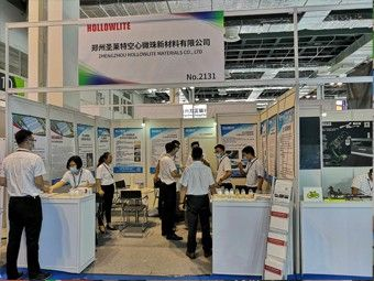 Hollowlite Attend the 26th China International Composites Exhibition